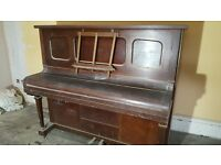 Working pianola for sale. £50 ONO. Beautiful inside, we have spare scrolls of music.