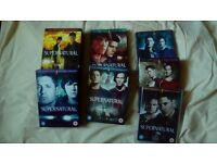 DVD Boxsets TV Series Supernatural