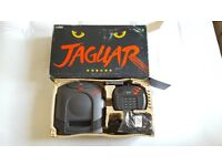 Atari jaguar console - boxed with controller and all leads and Cybermorph game