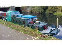 Unique Dutch barge narrowboat 40ft x 10 wide