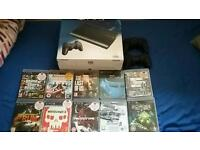 Playstation 3 500gb 8 games 2 controllers