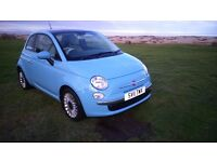 Fiat 500 1.3 Diesel. One lady owner. Tilt & slide sunroof. Air con. Split rear seat fold. Boot liner