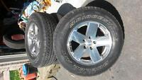 2010 jeep wheels and tires