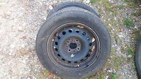 Citroen C5 wheels with good tyres