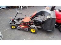 2 Ride On Lawn Mowers In Very Good Condition