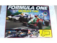 Scalextric Bundle: 1992 Formula One Set c646 + Accessory Set C221 + 2 BTCC cars