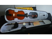"premavera violin 3/4 size overall length is 20"" approx"