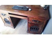Rustic Solid Wood Desk *bargain price* must go asap