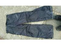 Motorcycle trousers size small