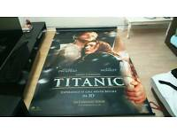 Used, TITANIC MOVIE BANNER for sale  Hampshire