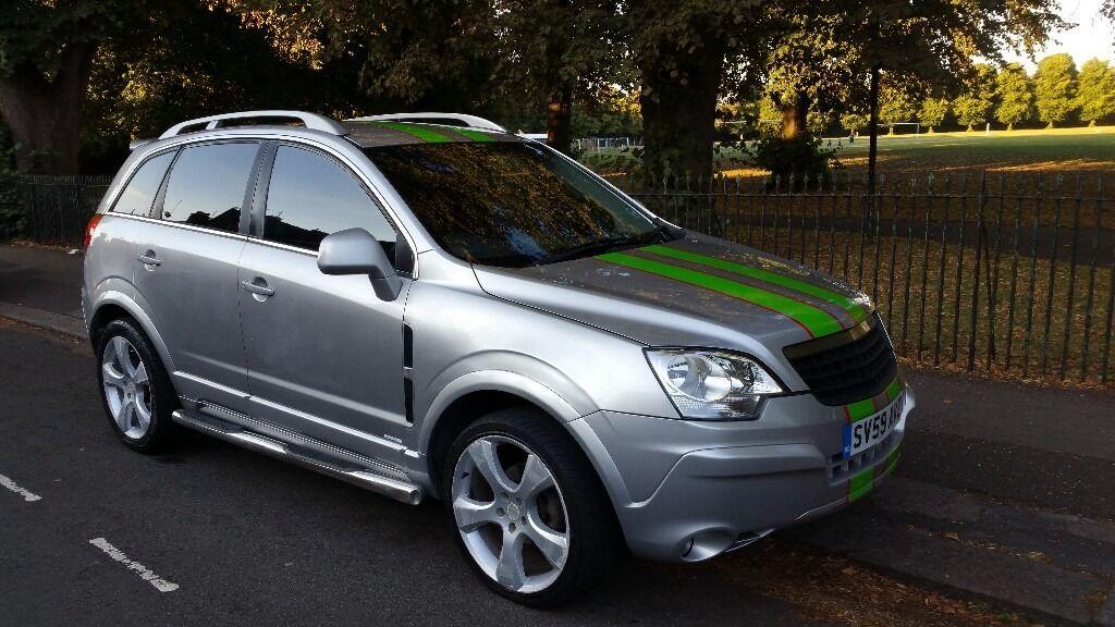 Vauxhall Antara Sports 2.0L CDTi 4x4 Diesel, Like Qashqai ...