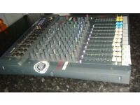 Soundcraft Spirit Folio F1 16 Channel Mixer