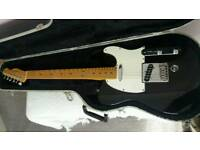 Fender USA Tele Telecaster with B Bender in black. Immaculate Condition!