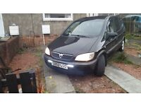 Vauxhall Zafira 2lt dti For Swap may Sell