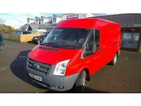 ford transit t350l l.w.b 2011 registration, 2.4 lt turbo diesel , 134,000 miles