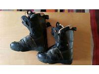 Salomon f22 snowboard boots 8.5