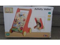 Never used Tidlo activity walker. Never taken out the box baby walker