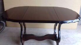 Small Mahogany drop leaf coffee table