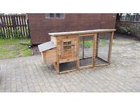 chicken coop / rabbit hut.