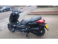 Yamaha YP125R X-MAX bike like new with very low mileage!