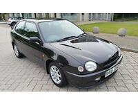 1998 TOYOTA COROLLA 1.3 G6 1 OWNER FROM NEW 27K FTSH 17 STAMPS 6 SPEED STUNNING NOT TO BE MISSED!!