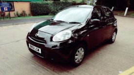 2011 NISSAN MICRA AUTOMATIC LOW MILES 5 DOORS