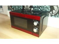 Red Microwave **Fully Working**