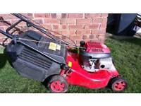 Self drive petrol lawnmower with Honda engine