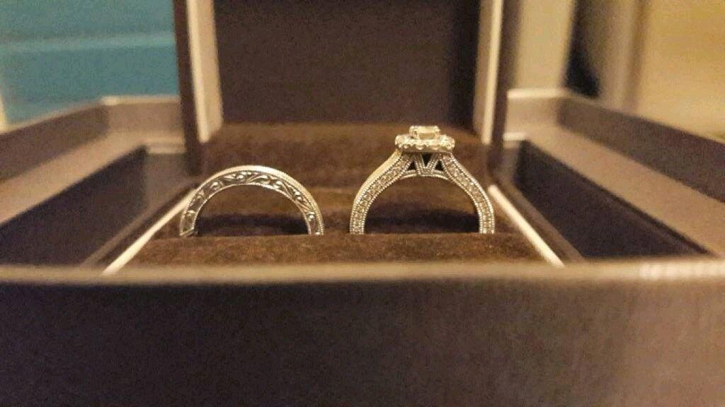 Neil Lane Wedding band and ring