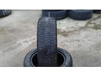 New and part worn tyres.