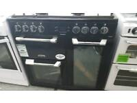 New graded Leisure 90cm dual fuel range cooker with 12 months guarantee