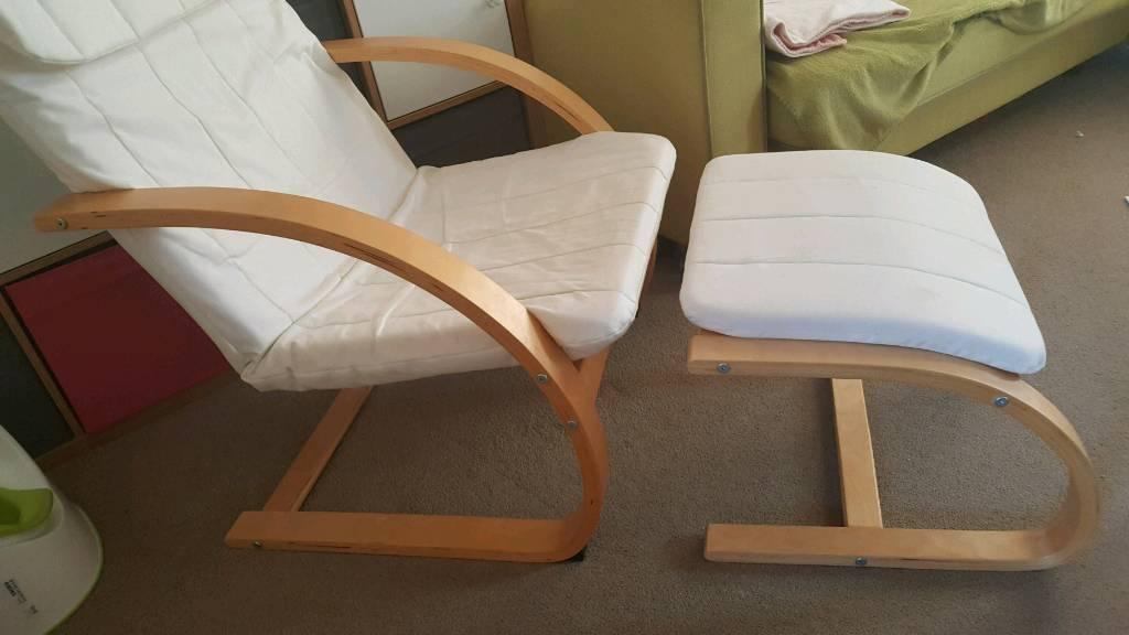 Kiddicare Nursery Chair And Foot Stool