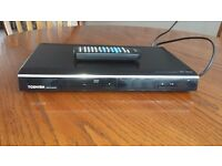 Toshiba dvd player .with remote Hardly been used . Excellent condition
