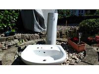Free Unused pedastal basin in garage since 2009