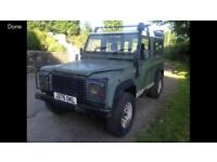Landrover Defender Required 90 or 110