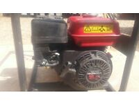 HONDA PETROL GENERATOR 110V 240V GX160 USED BUT WORKING PERFECTLY