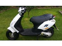 2011 Piaggio Zip 50cc 2T HPI Clear 11 Months MOT Learner Legal