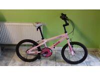 KIDS GIRLS CHILDREN KINX18 INCH WHEELS PINKWELL BMX BIKE BICYCLE