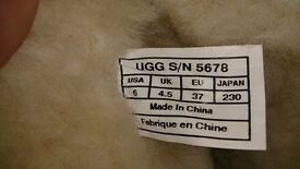 Womans ugg boots uk size 4.5