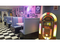 full time cheh required for GOODYS 50s AMERICAN DINER dundonald due to demand