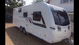 Coachman 6 berth twin axle caravan