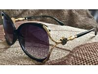 Brandnew Ladies Christian Dior 1678 tortoise shell sunglasses 3201 cheap bargain gift glasses Black