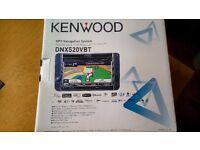 KENWOOD DNX520VBT STEREO AND GPS Navigation System