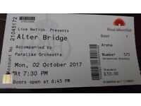 Alter bridge tickets royal albert Hall