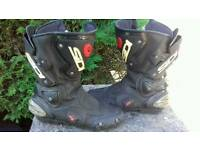 Sidi motorcycle boots size8