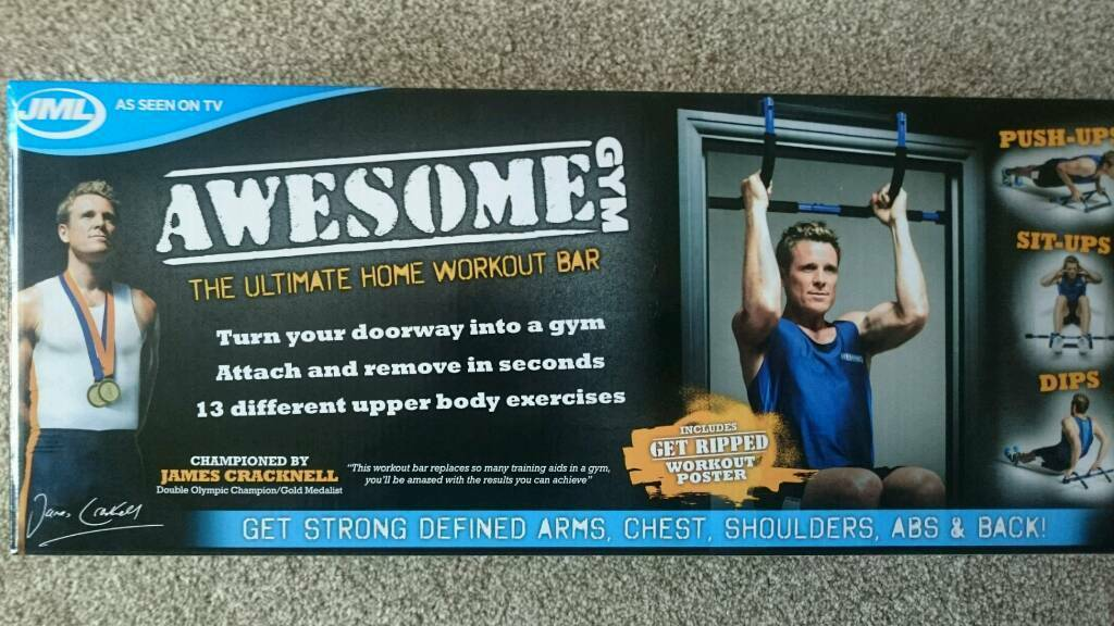 Jml awesome pullup pull up dips situp pushup bar | in