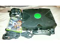 Original Xbox With Crash Bandicoot