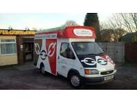 Catering Van Business New Conversion Ford Transit 2.5D Festival Ready Full Package