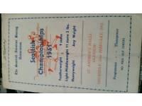 1951 scottish amatuer boxing association ..scottish championship