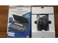 Collins electronic crossword solver